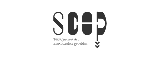 SCOP Background art & animation graphics